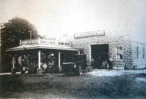 Picture of original Kerhaert's Towing shop -early 1900's Greece NY