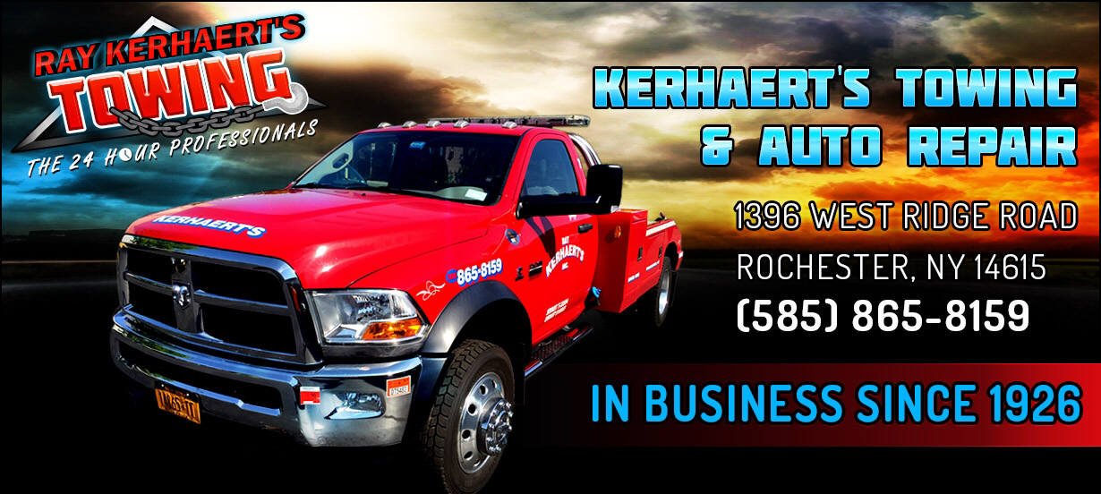 Rochester Towing and Winching Truck-Kerhaert's Towing