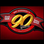 Over 90 years in business logo from Ray Kerhaert's Towing and Auto Repair