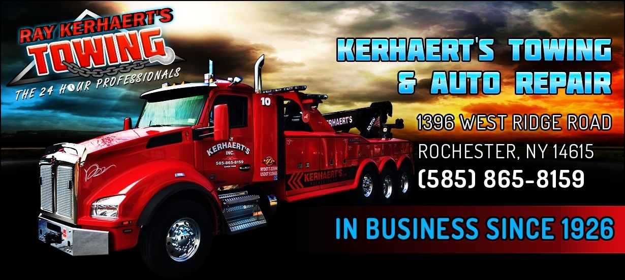 Rochester NY Towing Service-Kerhaert's Towing Logo